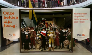 Fantastic flashmob marks the reopening of Amsterdam's National Museum
