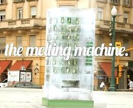 ice-melting vending machine