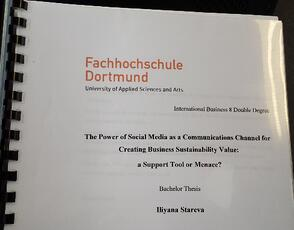 Dissertation on social media for sustainability communications