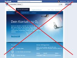 o2 Deutschland Facebook Customer Service App