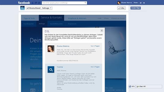 o2 Germany bad customer service on social media 1