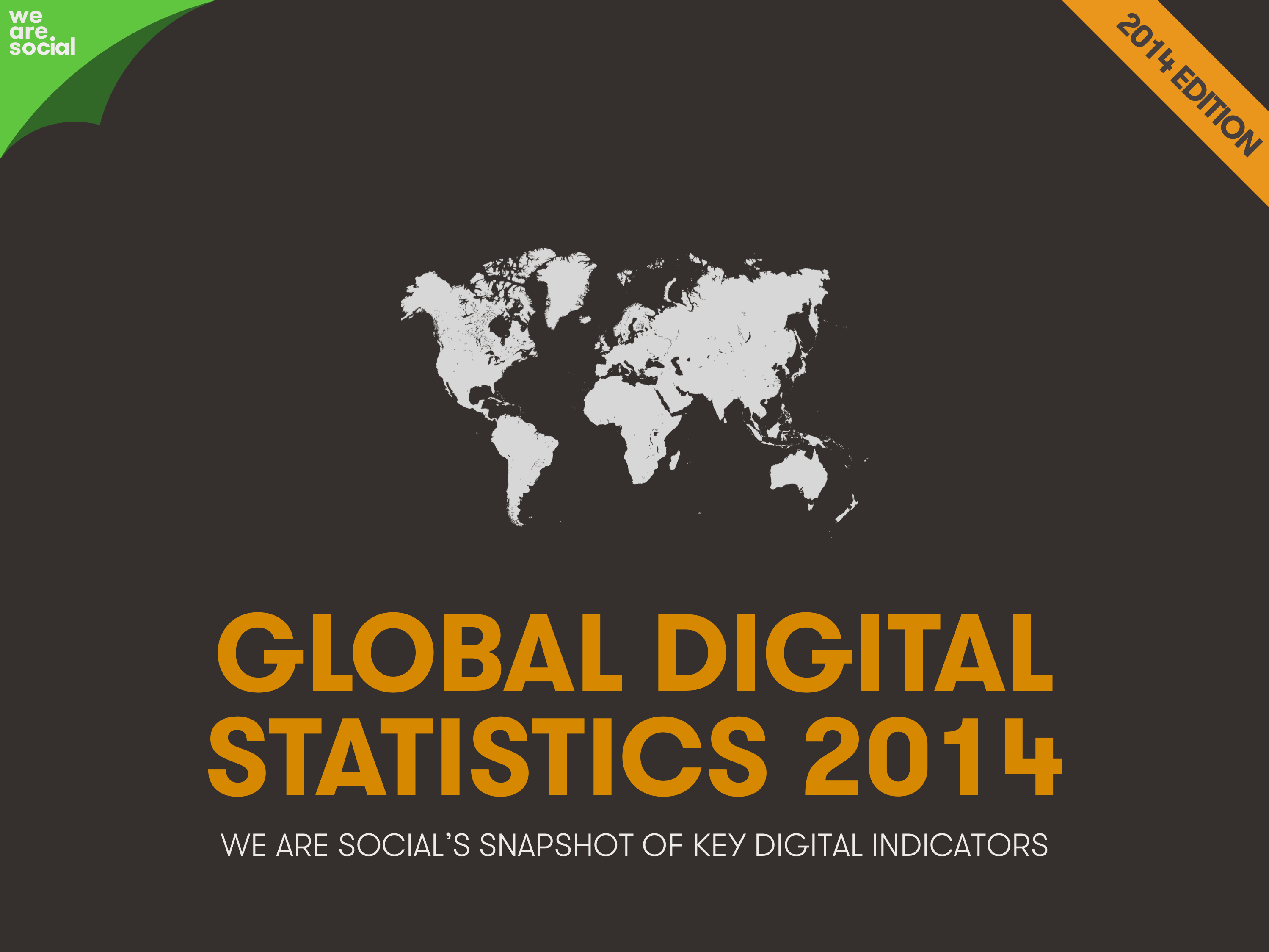 Global Digital Statistics 2014 by We Are Social