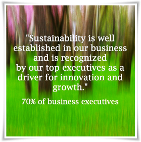Sustainability as key driver for business growth and innovation
