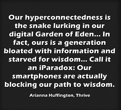 hyperconnectedness eating us up