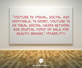 YouTube's potential for beauty brands