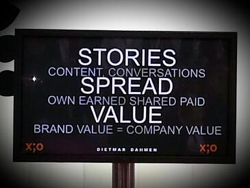 stories spread value #dmexco