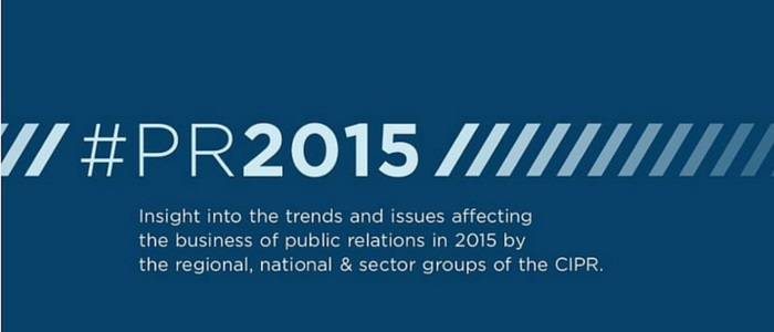 Trend and issues in the PR business in 2015