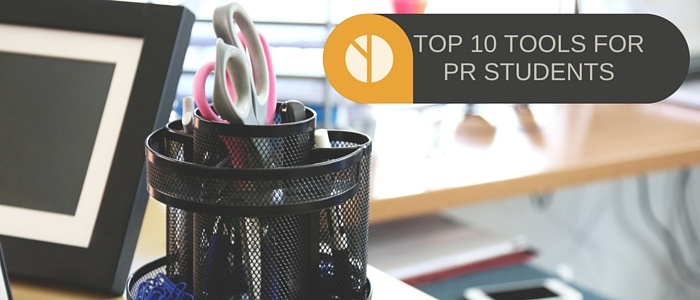 top 10 tools for PR students