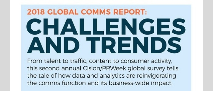 challenges and trends in PR and comms for 2018