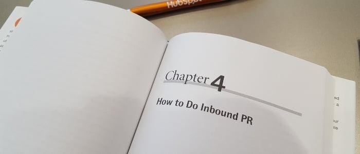 inbound pr book how to do inbound pr