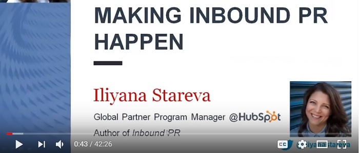 making inbound pr happen webinar video