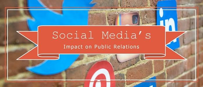 social media's impact on PR