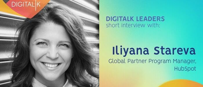 5 Questions with Iliyana Stareva - Digital Leaders
